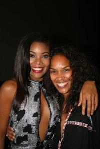 Mara Brock Akil with Gabrielle Union